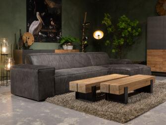 grijze loungebank