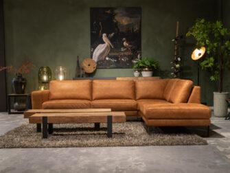 bruine loungebank