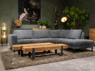 loungebanken grijs