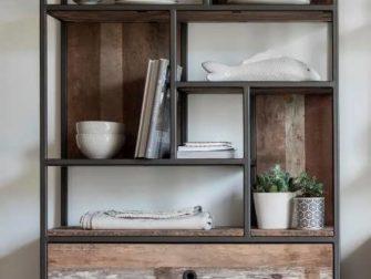 industriele boekenkast