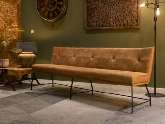 diningbench leather