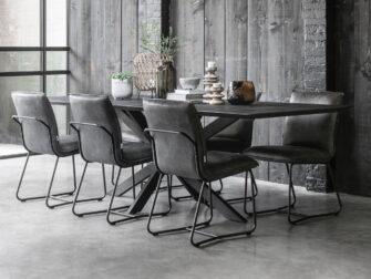 antraciet stoelen
