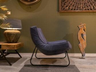 blauwe zetel