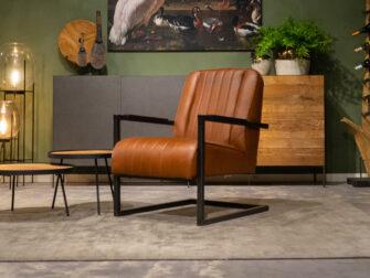 relax fauteuil bruin