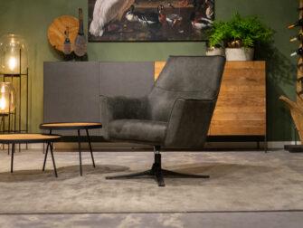 relax stoel grijs