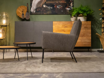 relax fauteuil taupe