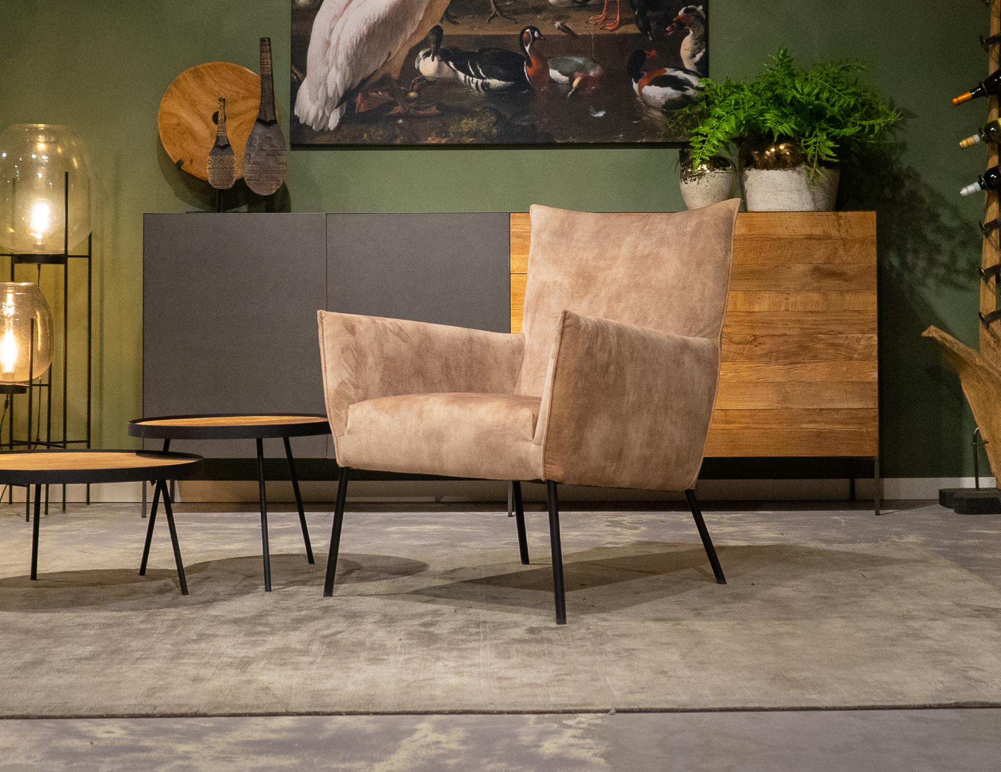 velvet relax stoelen