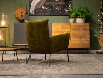 groene relax stoelen