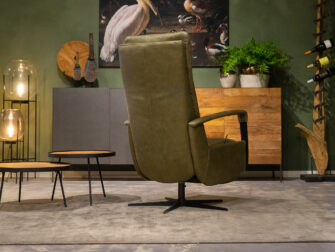 fauteuil olive