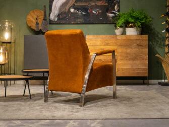 relax fauteuil cognac
