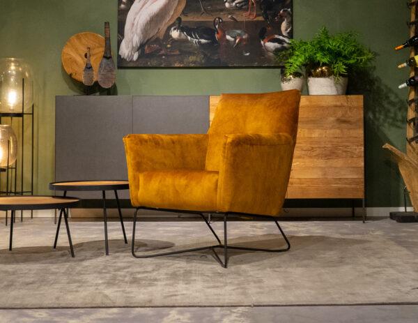 relax stoelen velvet