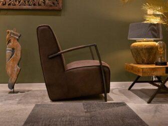 bruine clubchair