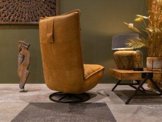 fauteuil walnut