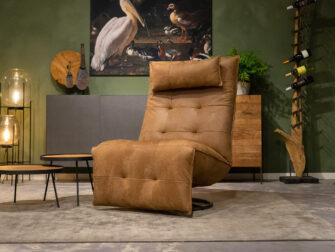 moderne fauteuil bruin