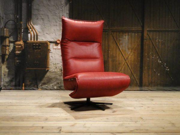 rode industriele fauteuil