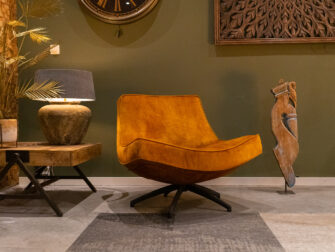 fauteuil lage rugleuning