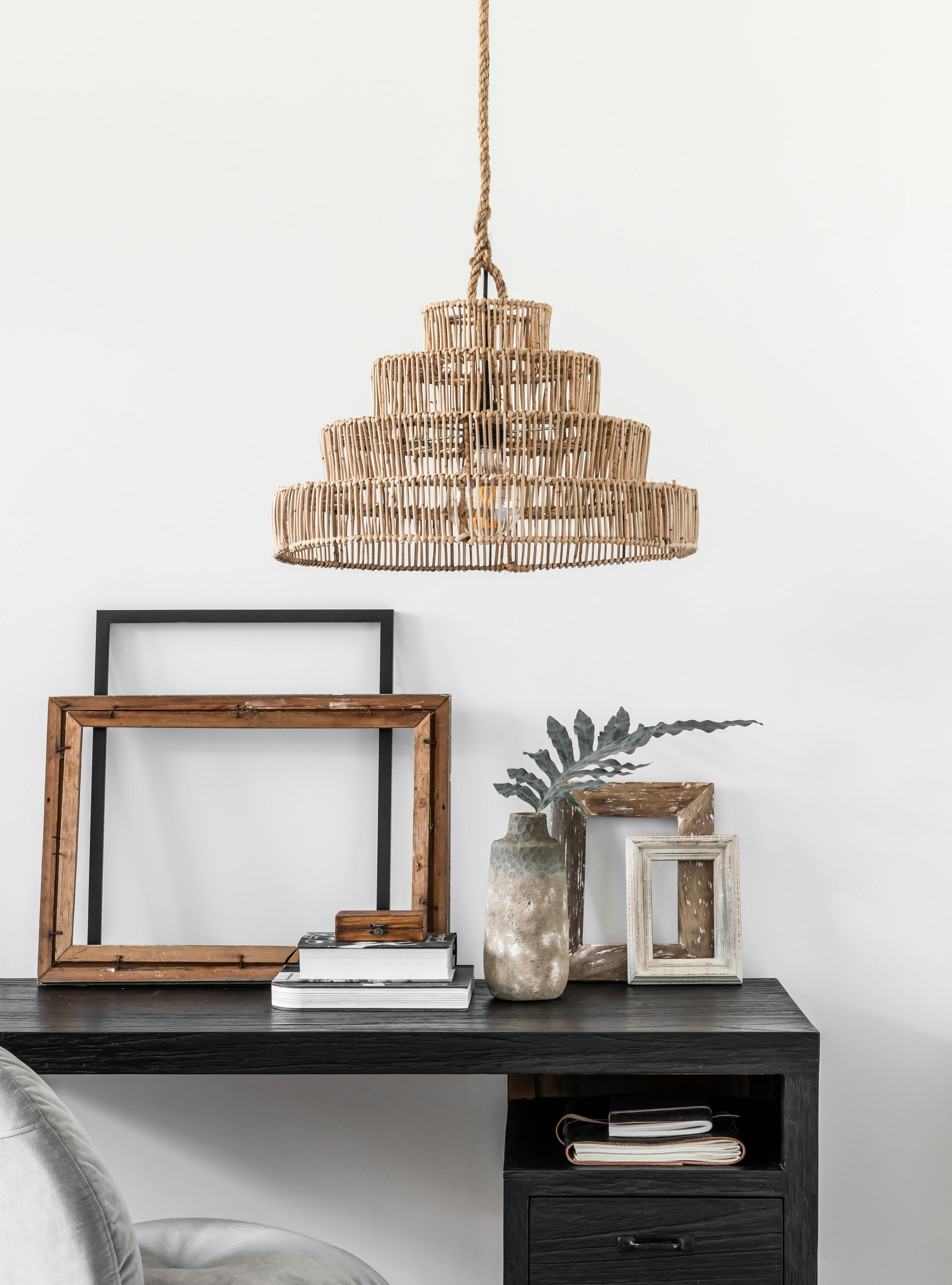 hanglamp riet