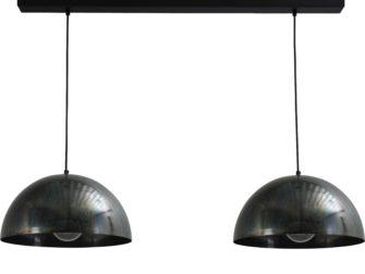 hanglamp dappled oil outside dappled oil inside