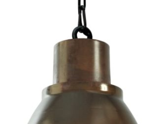 roestkleurige hanglamp