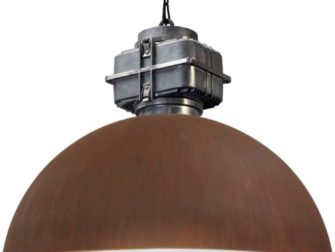 industriele hanglamp roest