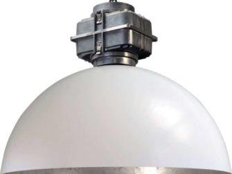 industriele hanglamp silverleaf