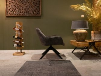 luchtige fauteuil