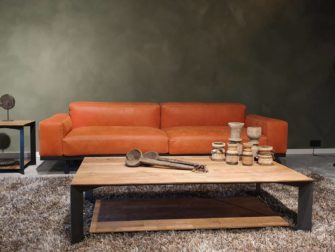 salontafel met onderblad