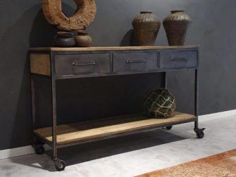 side table mango hout