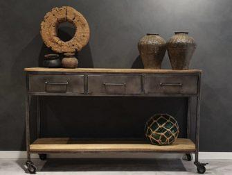 side table industrieel