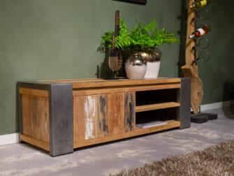 tv-meubel met staal
