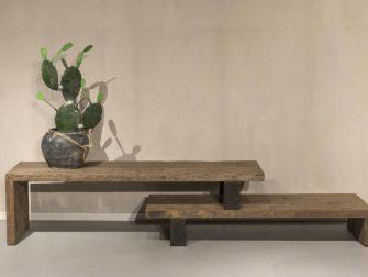 tv-meubel oud hout