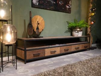tv-meubel ruimte voor apparatuur