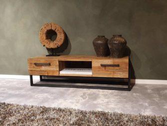 Industieel tv meubel