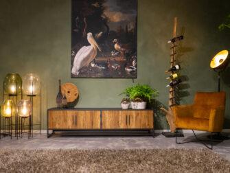 tv-meubel veel opbergruimte