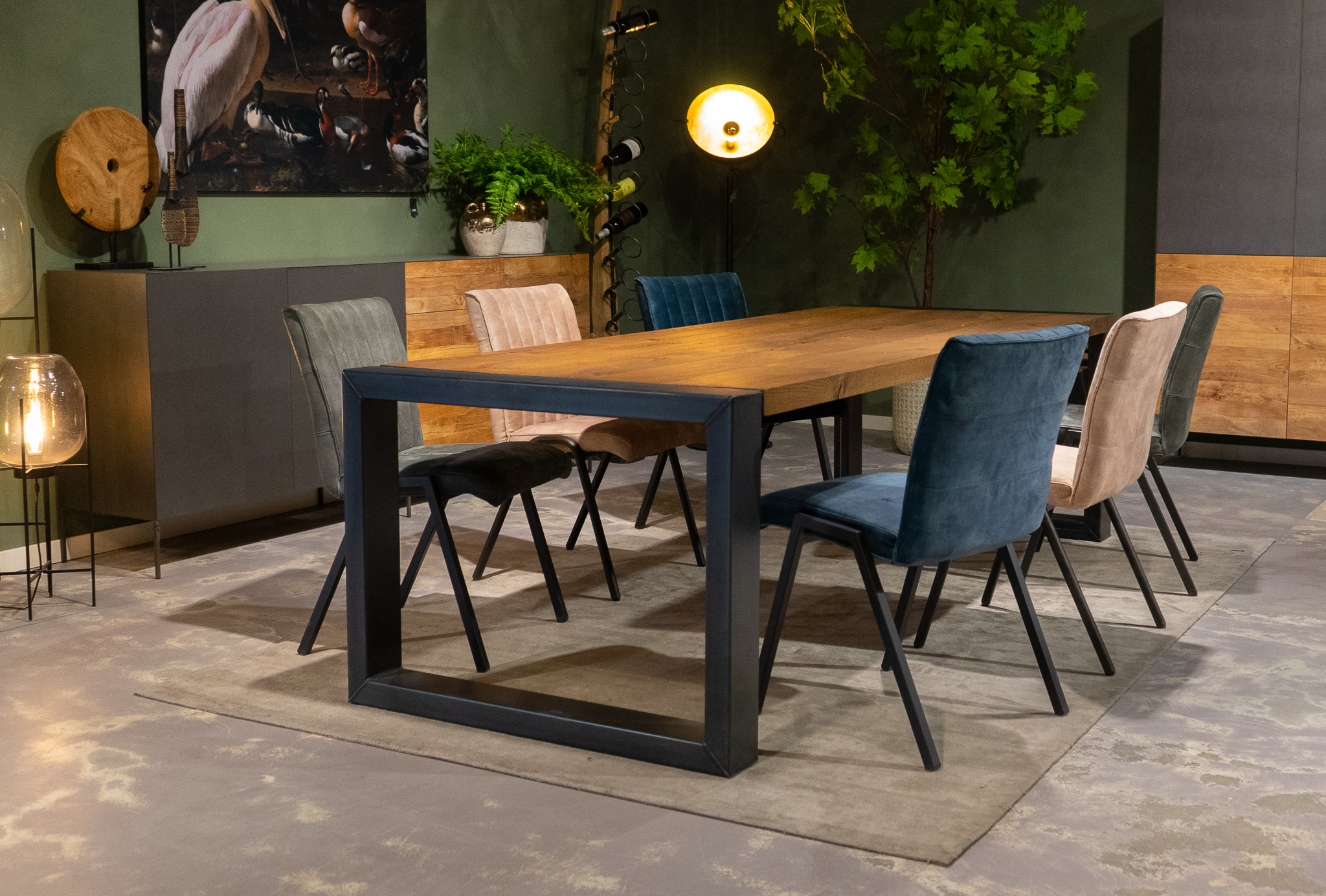 Grote stoere tafel