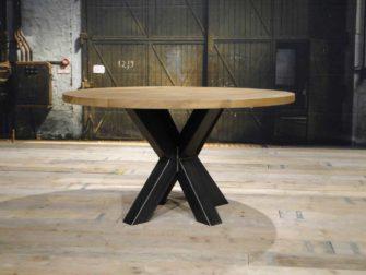 ronde industriele tafel