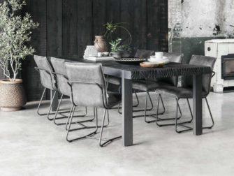 Tafel Cavallo 250x100cm - black