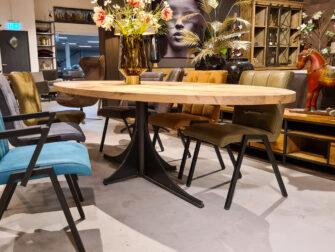 ovale maatwerk tafel