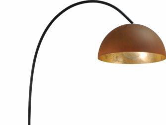 stalen vloerlamp