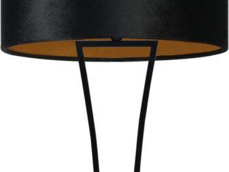 vloerlamp black