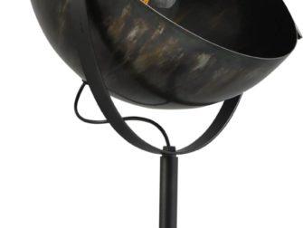 dappled oil larino lamp