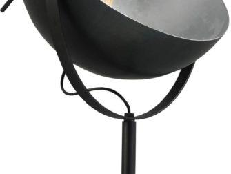 gunmetal vloerlamp