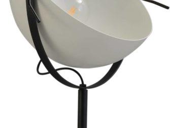 vloerlamp white outside white inside
