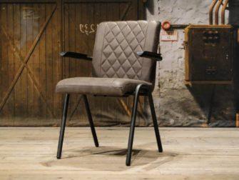 armchair diningchair brown