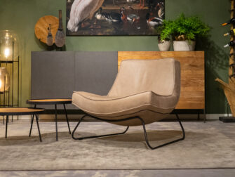 taupe relax stoel