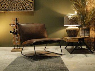 industriele fauteuil in stof