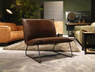 bruine chapman fauteuil