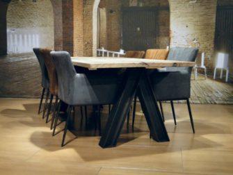 eiken tafel oud hout