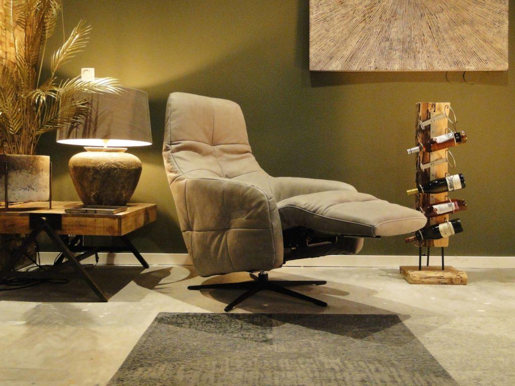 Stoere verstelbare relax stoel