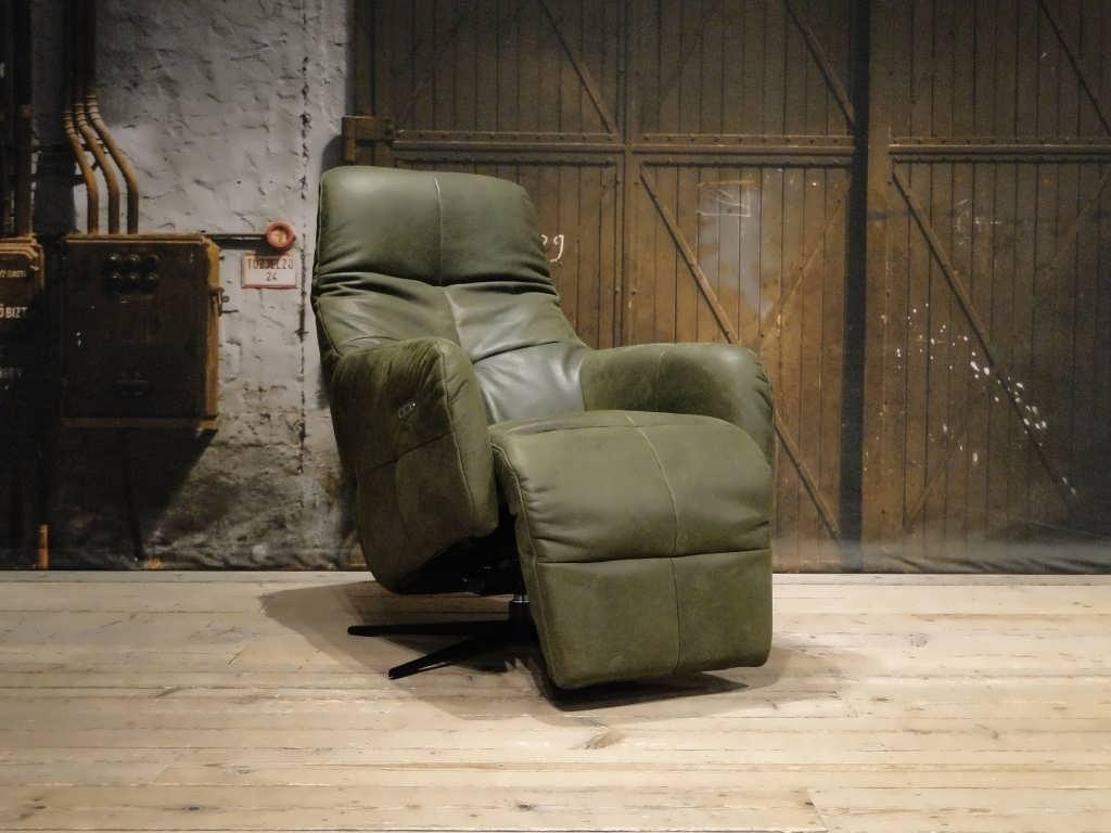 Groene relax stoel